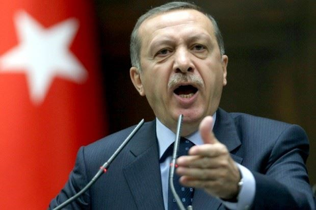President Erdogan. AP file photo.
