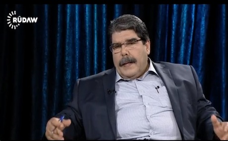 Leader of the Democratic Union Party (PYD), Salih Muslim.