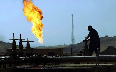 An exact estimate of the volumes of crude being trucked to Iran is unknown, but reports place it at about 30,000 barrels per day. Photo: AFP