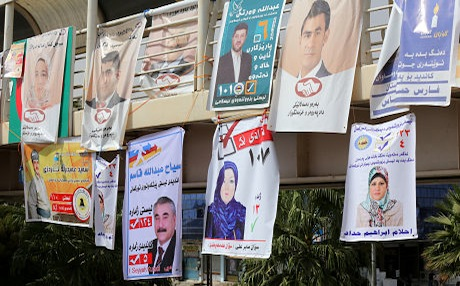 According to statistics from the Iraqi High Electoral Commission (IHEC), there are 366 women and 736 male candidates for the upcoming elections. Photo: Rudaw