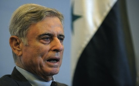 Abdul Halim Khaddam, was Syria's vice president from 1984 until his defection in 2005. Photo: AFP