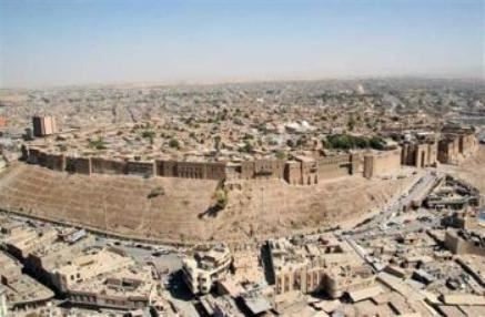 The Erbil Citadel is considered among the oldest continuously inhabited sites in the world. Photo: AP