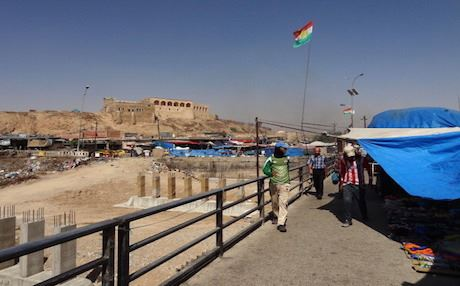 A referendum would also decide the fate of multi-ethnic Kirkuk, which has been under Kurdish control for the past month. Photo: AFP
