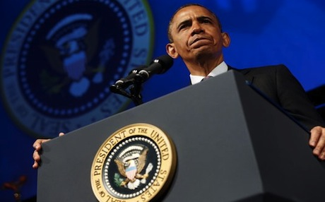 US President Barack Obama said the use of chemical weapons by the Syrian regime would be