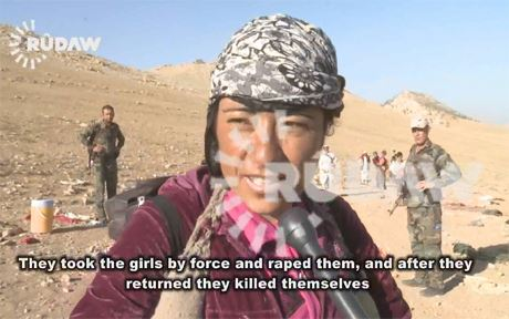 This woman tells the story of the Yezidi girls who committed suicide